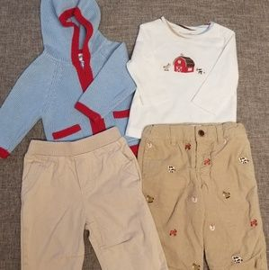 Kitestrings baby outfit 3-6 month boys